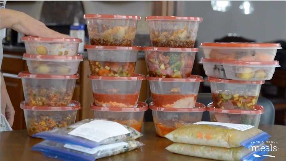Thawing Freezer Meals Once A Month Meals