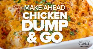 Get on Track with your Budget: Prep this Dump and Go Chicken Menu with Us!