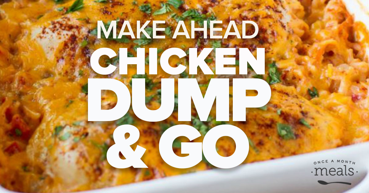 Get on Track with your Budget: Prep this Dump and Go Chicken Meal Plan with Us!