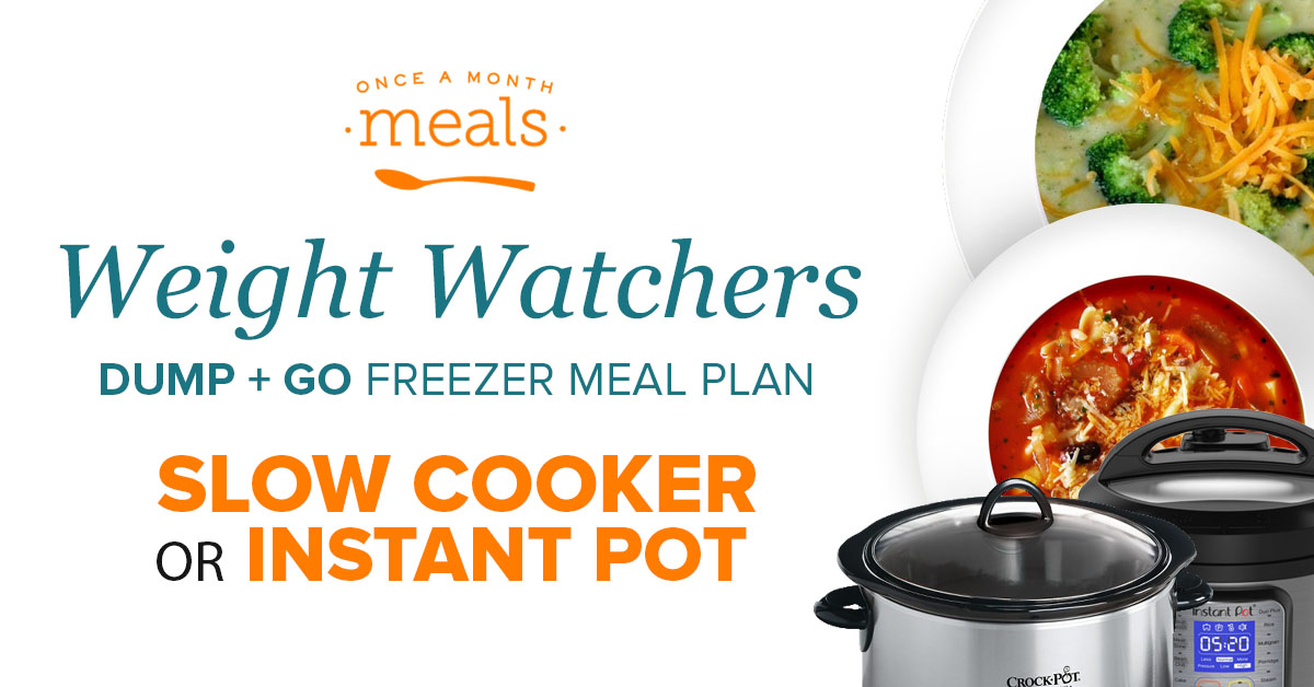LIVE Weight Watchers Meal Prep using Freezer Meals!