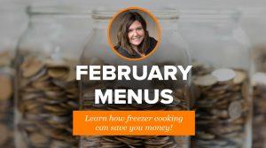 2019 February Menus