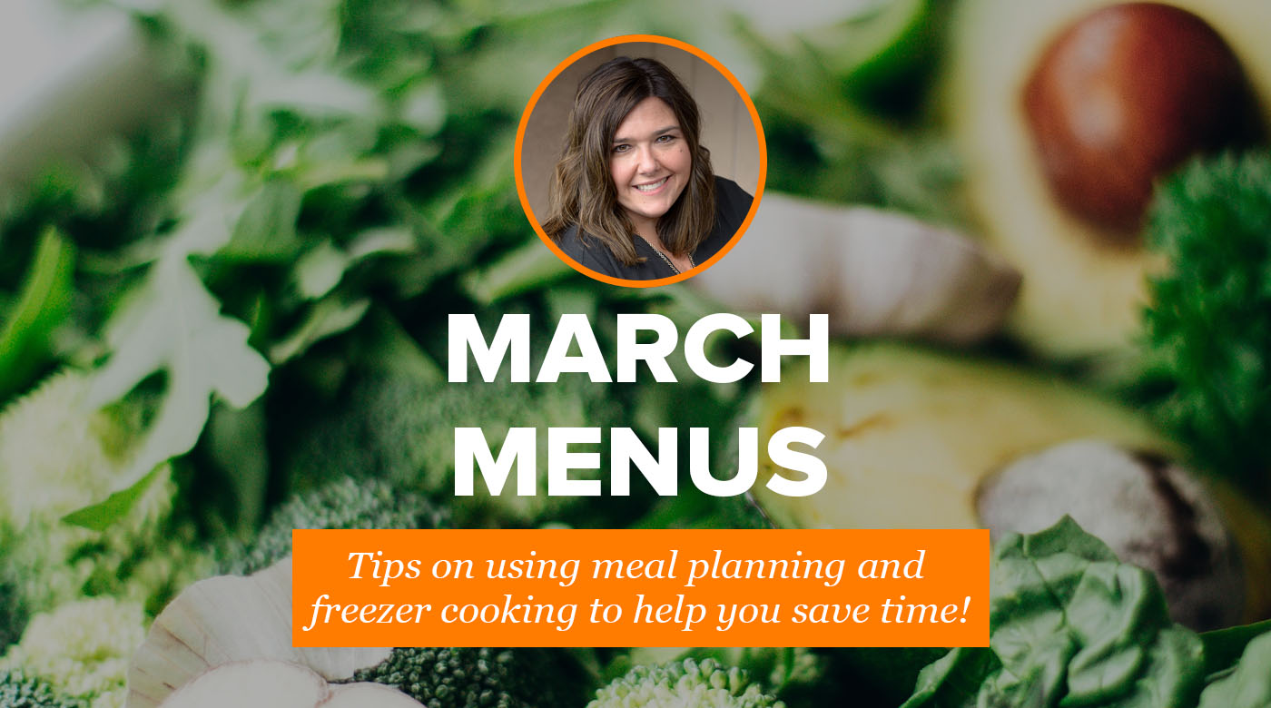 2019 March Menus