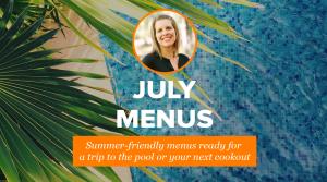 2019 July Menus