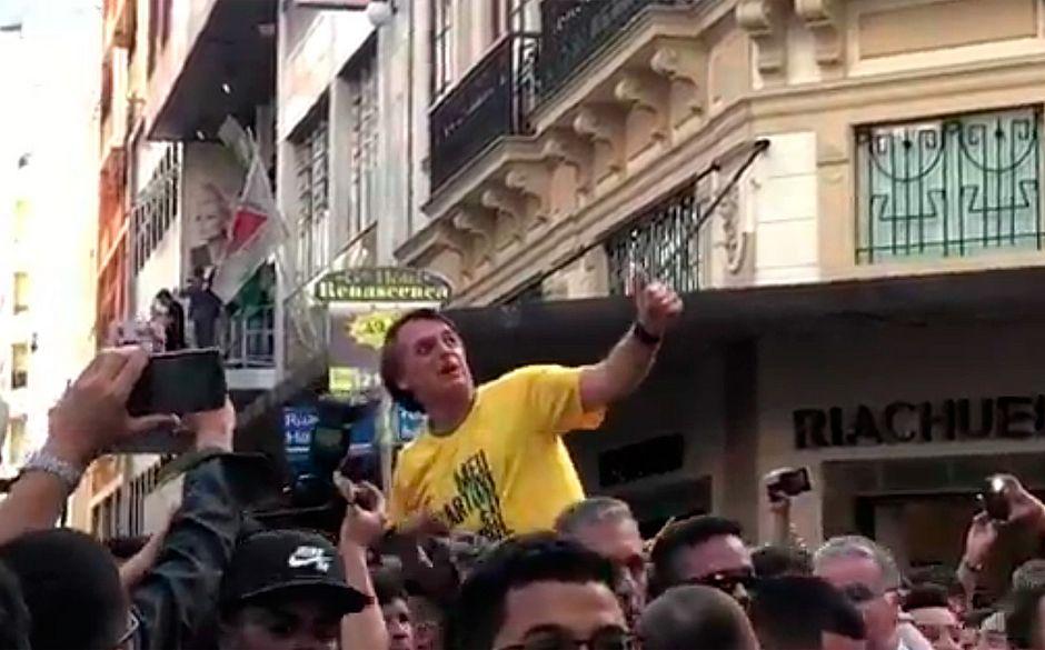 Jair Bolsonaro é transferido para São Paulo após operação em Minas Gerais