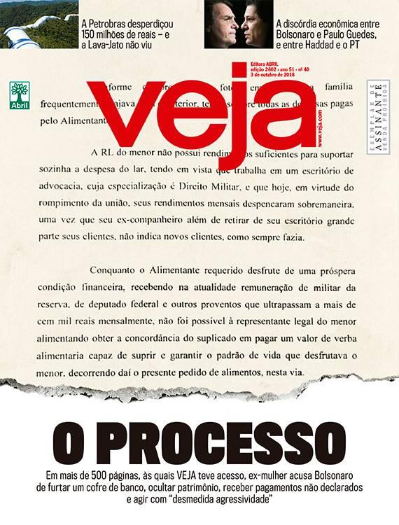 Bolsonaro escondeu bens, tinha renda inexplicada, furtou cofre e era agressivo, acusa processo de ex-mulher