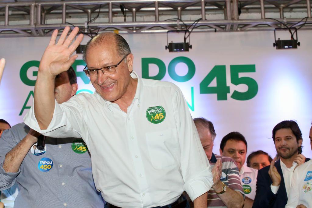 Promotor pede suspensão dos direitos políticos de Geraldo Alckimin