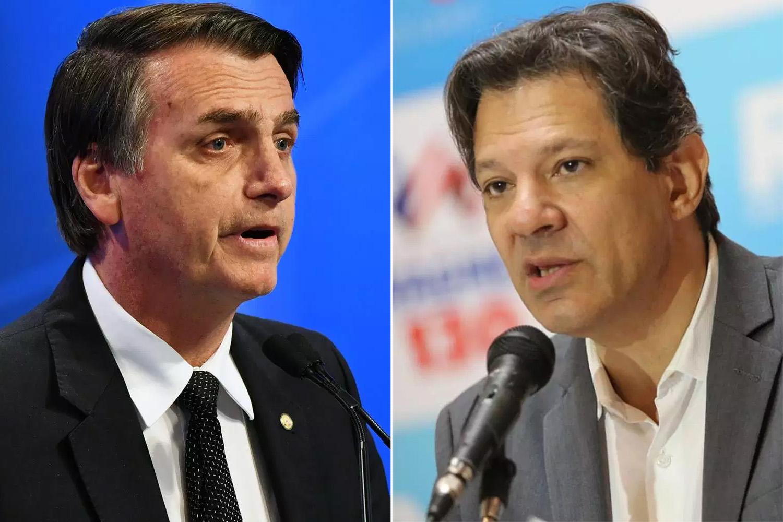 Bolsonaro Haddad
