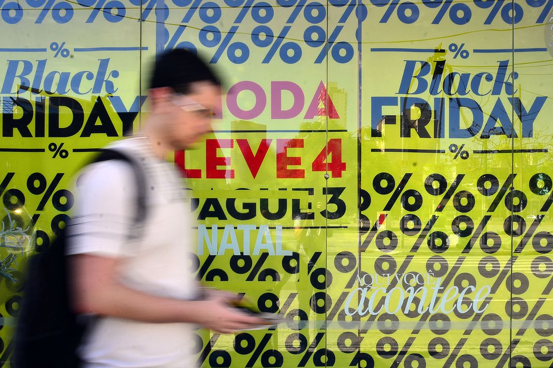 Black Friday: Vendas online avançam 41% na semana