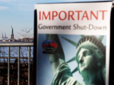 A Seguir Shutdown e Desemprego