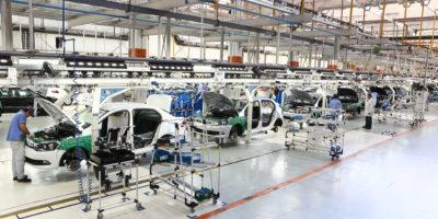 Produção de veículos cresce 30% devido a greve dos caminhoneiros