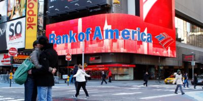 BofA registra queda de 45% no lucro líquido do 1T20