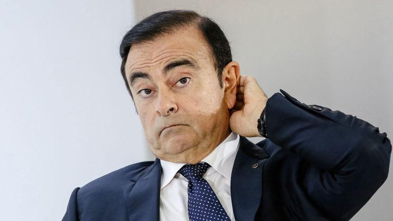 Nissan entra com ação contra Ghosn e pede indenização de US$ 90 mi