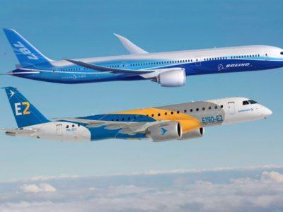 União Europeia irá investigar parceria entre Embraer e Boeing