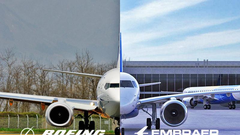 Embraer assina acordo para venda de divisão comercial para a Boeing