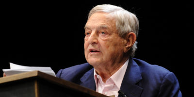 Davos: George Soros ataca Bolsonaro sobre a Amazônia