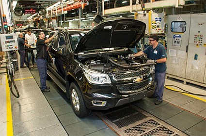 General Motors para produção em sua unidade de Gravataí
