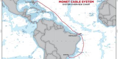 Novos cabos submarinos aumentam conexão entre Brasil e o mundo