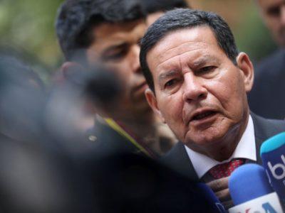 O vice-presidente Hamilton Mourão diz que a reforma da Previdência dos militares vai economizar R$ 13 bilhões em 10 anos