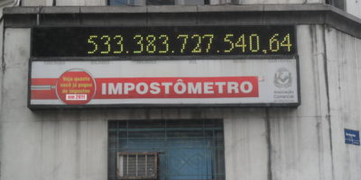 Brasileiros pagaram R$ 600 bilhões em impostos neste ano