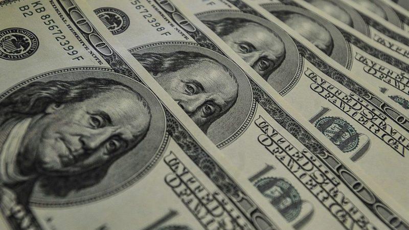 Dólar encerra em alta de 1,53%, cotado em R$ 4,65