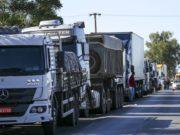 Greve dos caminhoneiros: entidade orienta para não bloquear estradas