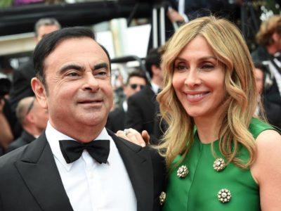 Carole Ghosn Carlos Ghosn
