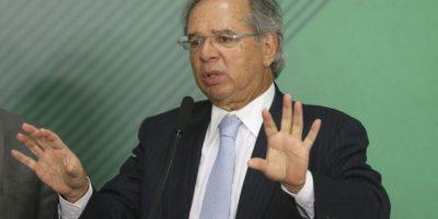 Paulo Guedes e Barros se reúnem para debater reforma tributária