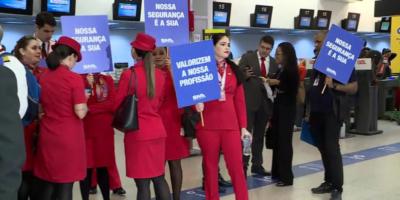 Avianca: greve de funcionários cancela voos em São Paulo e no Rio