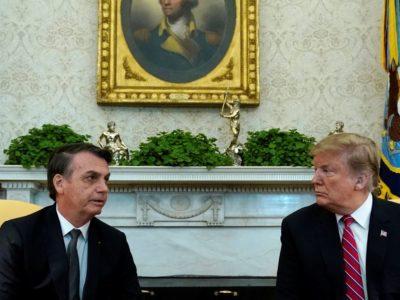 Brasil assina acordo militar com EUA que pode chegar a US$ 100 bilhões