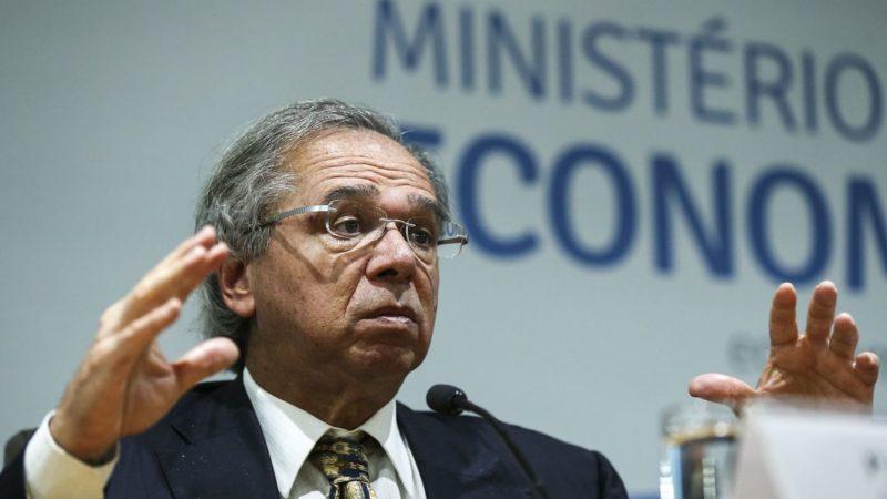 Guedes critica Trump por acusar o Brasil de desvalorizar o real