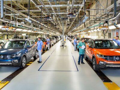 Produção de veículos apresenta queda de 3,9% em janeiro
