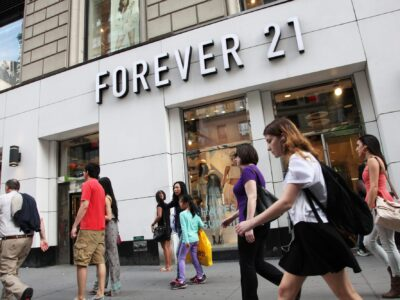 Forever 21 pode ser vendida por US$ 81 milhões a donos de shoppings