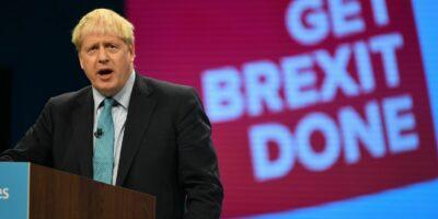 Boris Johnson ameaça saída do Reino Unido da UE sem acordo comercial