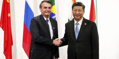Bolsonaro convida a China para participar do leilão de cessão onerosa