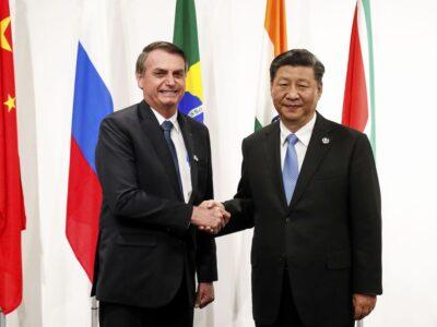 Bolsonaro convida China a participar do leilão de cessão onerosa