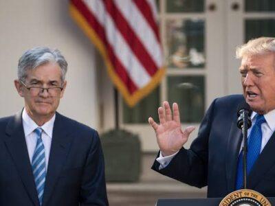 Trump e Powell se encontraram na casa branca, afirma Fed