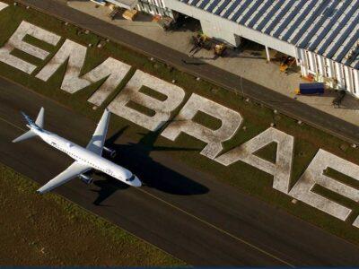 A Embraer (EMBR3) propôs uma redução nos salários dos seus colaboradores em unidades locais, além de um lay off. Clique aqui para saber mais.
