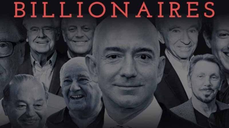 Os 10 bilionários que mais ganharam dinheiro na última década
