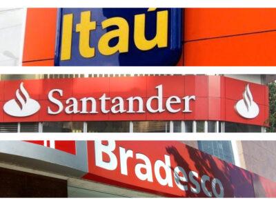 Itaú, Santander e Bradesco fecham agências e reduzem 7 mil funcionários