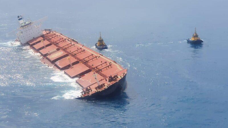 Vale (VALE3): navio com minério no Maranhão será afundado, diz Marinha