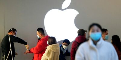 Apple enfrenta processo de US$ 1,4 bi de empresa chinesa