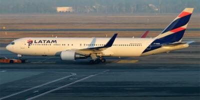 Latam solicita à Justiça dos EUA rejeição de arrendamento de 21 aviões