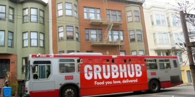 Grubhub aumenta vendas mas não é capaz de lucrar durante a pandemia