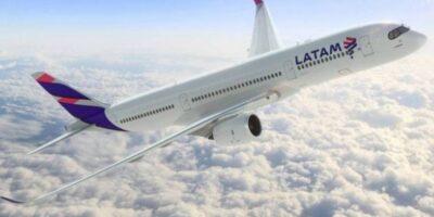 Latam Airlines: Transporte de passageiros da aérea tem queda de 89,1% em agosto