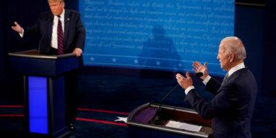 A 20 dias da eleição, Biden mantém 11 pontos de vantagem sobre Trump