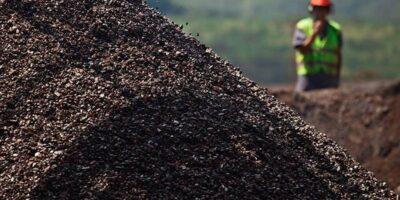 Minério de ferro: contratos futuros fecham em queda de 3,14%