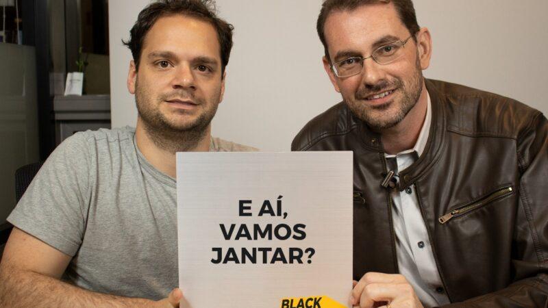 Black Friday: quer jantar com o Tiago Reis e o Prof. Baroni? Saiba como