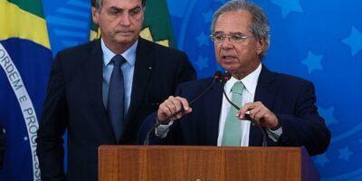 Bolsonaro: 'Guedes é 98% da Economia, e eu era 1% e passei para 2'