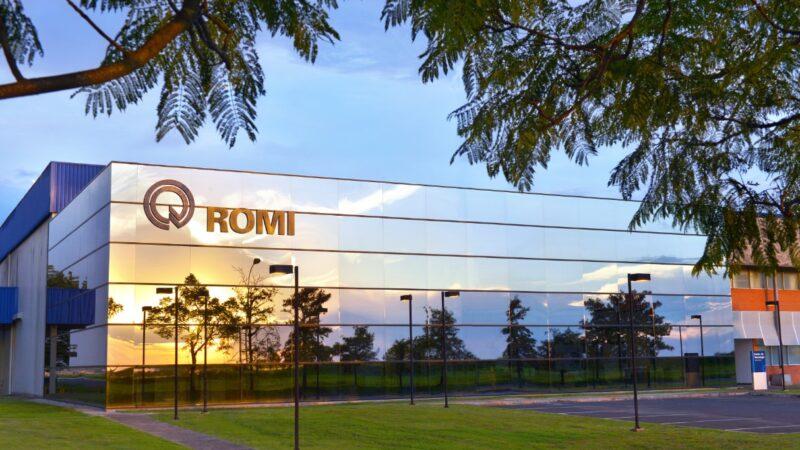 Indústrias Romi (ROMI3) tem alta 353,2% no lucro após vitória judicial