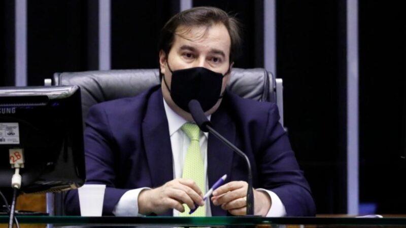 Rodrigo Maia diz que Orçamento está falido e não deveria ser sancionado